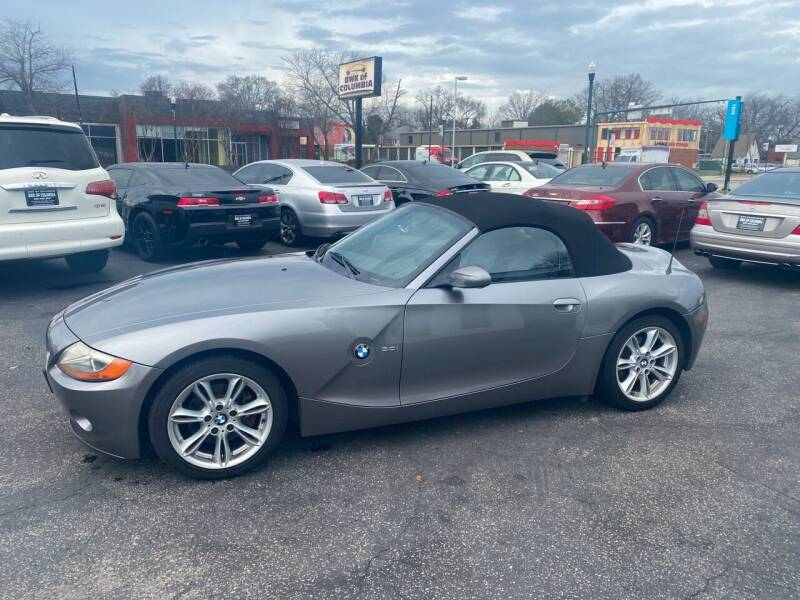 2003 BMW Z4 for sale at BWK of Columbia in Columbia SC