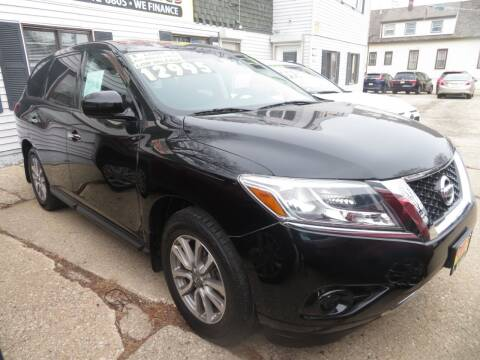 2014 Nissan Pathfinder for sale at Uno's Auto Sales in Milwaukee WI