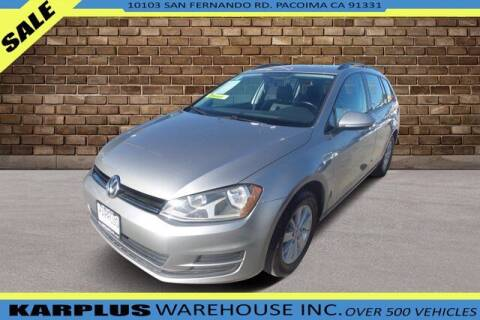 2015 Volkswagen Golf SportWagen for sale at Karplus Warehouse in Pacoima CA