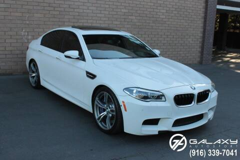2014 BMW M5 for sale at Galaxy Autosport in Sacramento CA