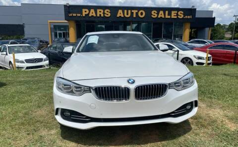 2015 BMW 4 Series for sale at Pars Auto Sales Inc in Stone Mountain GA