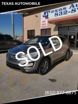 2014 Hyundai Santa Fe Sport for sale at TEXAS AUTOMOBILE in Houston TX