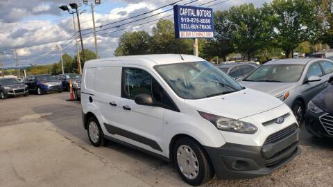 2015 Ford Transit Connect Cargo for sale at Capital Motors in Raleigh NC