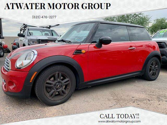2012 MINI Cooper Hardtop for sale at Atwater Motor Group in Phoenix AZ