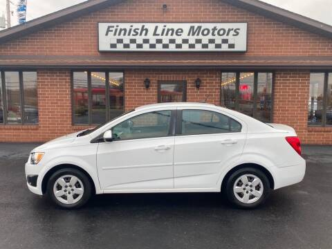 2013 Chevrolet Sonic for sale at FINISHLINE MOTORS in Canton OH