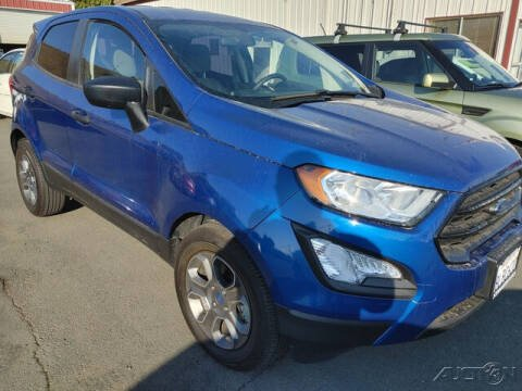 2019 Ford EcoSport for sale at Guy Strohmeiers Auto Center in Lakeport CA