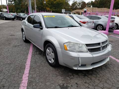 2008 Dodge Avenger for sale at Fast and Friendly Auto Sales LLC in Decatur GA
