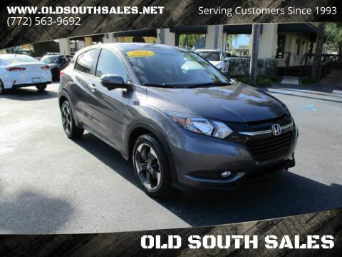 2018 Honda HR-V for sale at OLD SOUTH SALES in Vero Beach FL