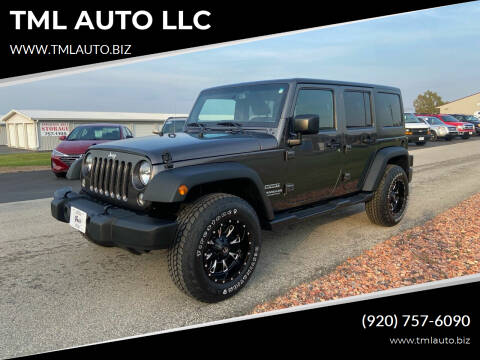 2016 Jeep Wrangler Unlimited for sale at TML AUTO LLC in Appleton WI