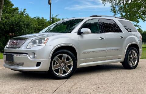 2011 GMC Acadia for sale at Texas Auto Corporation in Houston TX