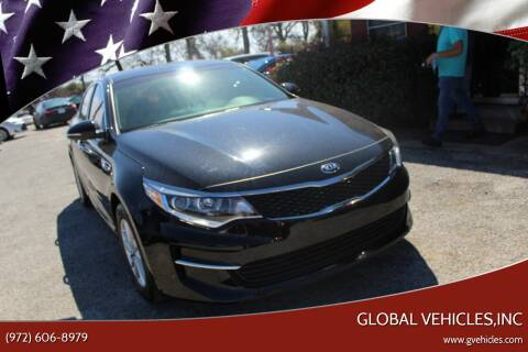 2018 Kia Optima for sale at Global Vehicles,Inc in Irving TX