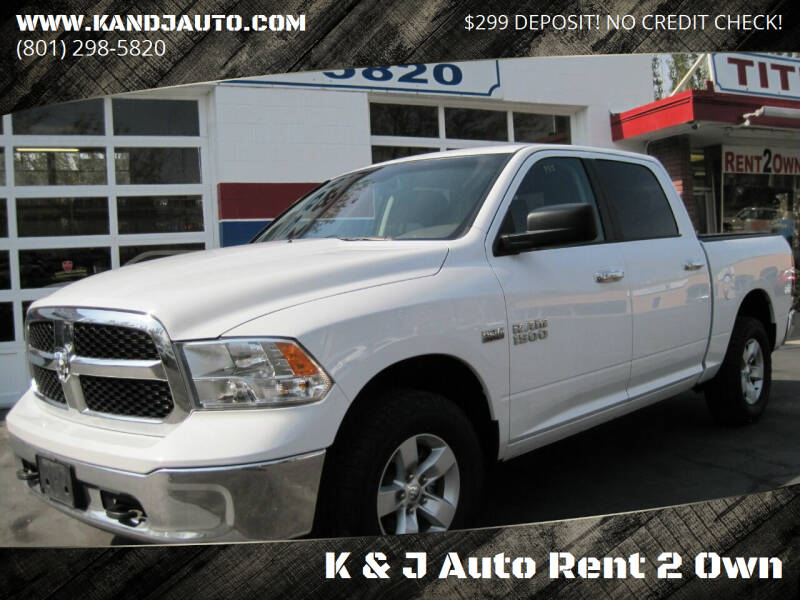 2015 RAM Ram Pickup 1500 for sale at K & J Auto Rent 2 Own in Bountiful UT