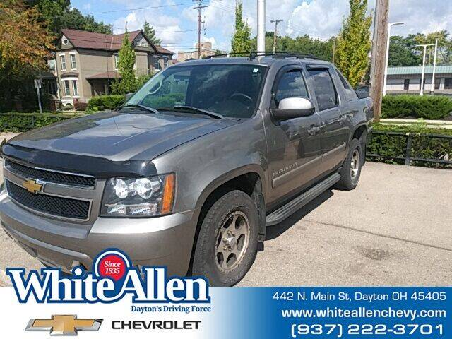 2007 Chevrolet Avalanche for sale at WHITE-ALLEN CHEVROLET in Dayton OH
