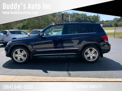 2014 Mercedes-Benz GLK for sale at Buddy's Auto Inc in Pendleton, SC