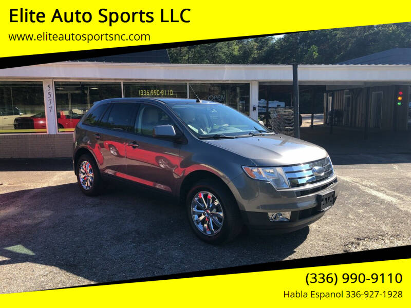 2009 Ford Edge for sale at Elite Auto Sports LLC in Wilkesboro NC