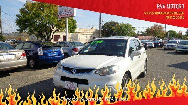 2007 Acura RDX for sale at RVA MOTORS in Richmond VA