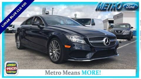 2016 Mercedes-Benz CLS for sale at Your First Vehicle in Miami FL