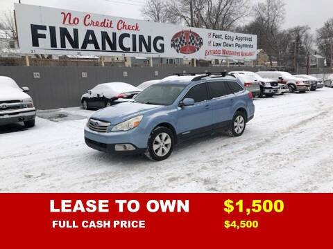 2010 Subaru Legacy for sale at Auto Mart USA -Lease To Own in Kansas City MO