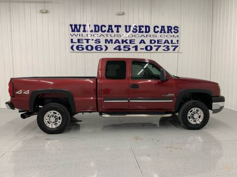 2004 Chevrolet Silverado 2500HD for sale at Wildcat Used Cars in Somerset KY