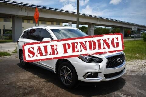 2018 Infiniti QX60 for sale at STS Automotive - Miami, FL in Miami FL