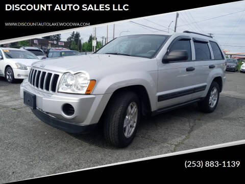 2005 Jeep Grand Cherokee for sale at DISCOUNT AUTO SALES LLC in Lakewood WA