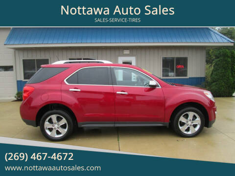 2013 Chevrolet Equinox for sale at Nottawa Auto Sales in Nottawa MI