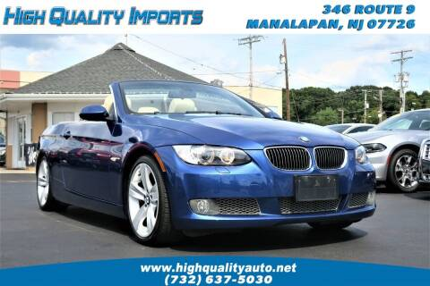 2007 BMW 3 Series for sale at High Quality Imports in Manalapan NJ