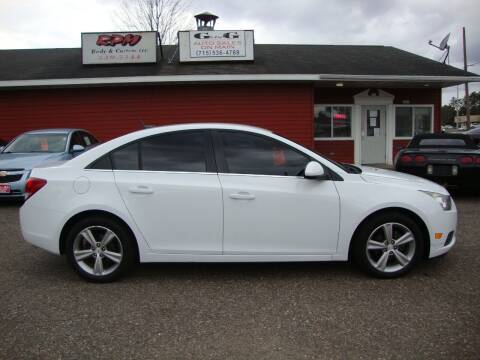 2012 Chevrolet Cruze for sale at G and G AUTO SALES in Merrill WI