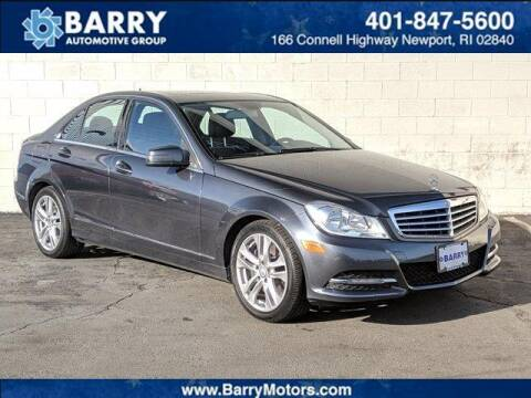 2013 Mercedes-Benz C-Class for sale at BARRYS Auto Group Inc in Newport RI
