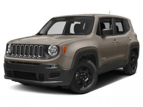 2018 Jeep Renegade for sale at Suburban Chevrolet in Claremore OK