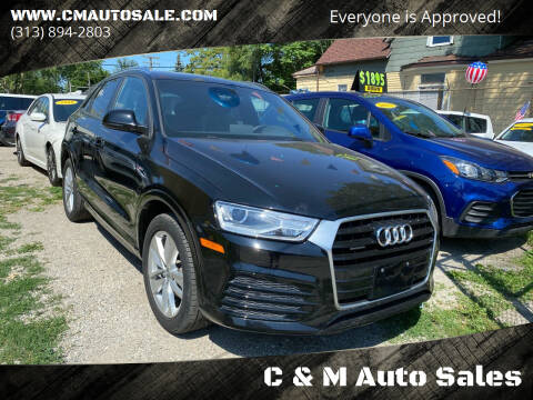 2018 Audi Q3 for sale at C & M Auto Sales in Detroit MI