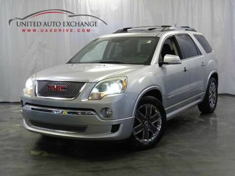 2012 GMC Acadia for sale at United Auto Exchange in Addison IL