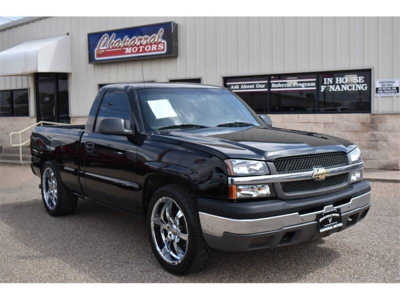 2004 Chevrolet Silverado 1500 for sale at Chaparral Motors in Lubbock TX