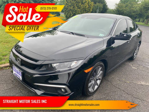 2019 Honda Civic for sale at STRAIGHT MOTOR SALES INC in Paterson NJ