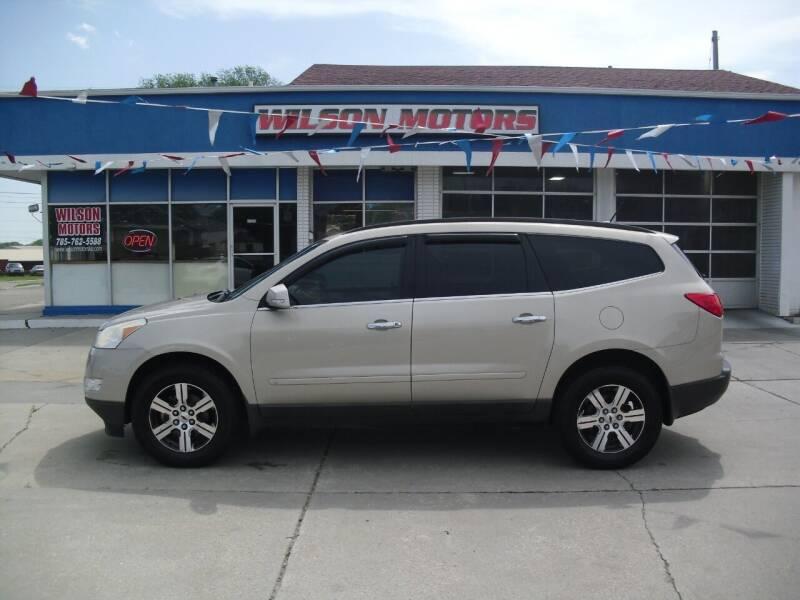 2010 Chevrolet Traverse for sale at Wilson Motors in Junction City KS