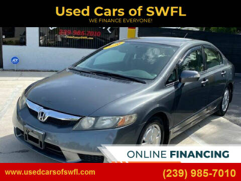 2010 Honda Civic for sale at Used Cars of SWFL in Fort Myers FL