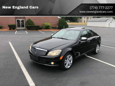2008 Mercedes-Benz C-Class for sale at New England Cars in Attleboro MA