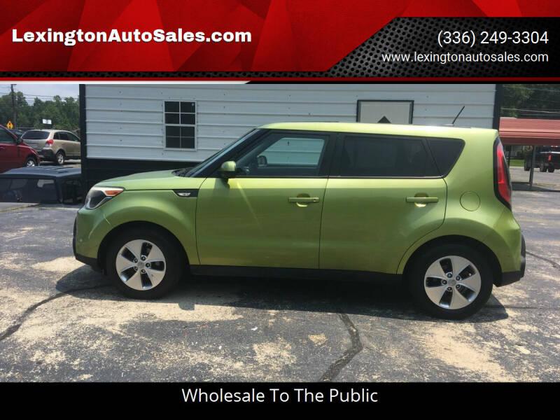 2014 Kia Soul for sale at LexingtonAutoSales.com in Lexington NC