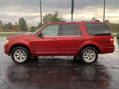 2017 Ford Expedition for sale at Hawkins Motors Sales in Hillsdale MI