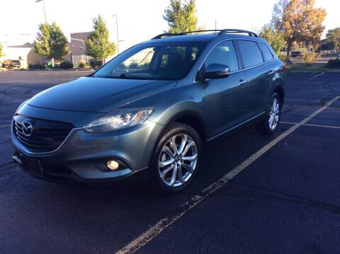 2013 Mazda CX-9 for sale at AROUND THE WORLD AUTO SALES in Denver CO