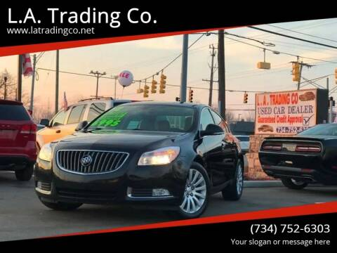 2012 Buick Regal for sale at L.A. Trading Co. in Woodhaven MI
