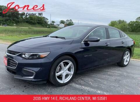2017 Chevrolet Malibu for sale at Jones Chevrolet Buick Cadillac in Richland Center WI