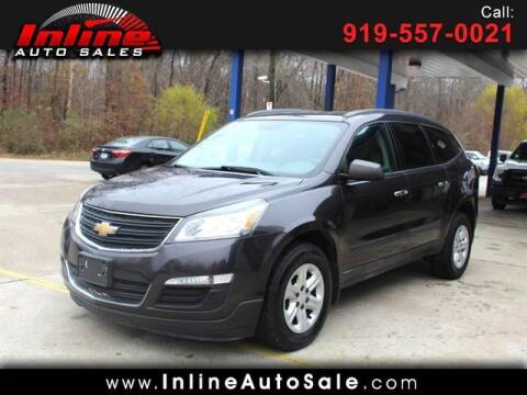 2015 Chevrolet Traverse for sale at Inline Auto Sales in Fuquay Varina NC