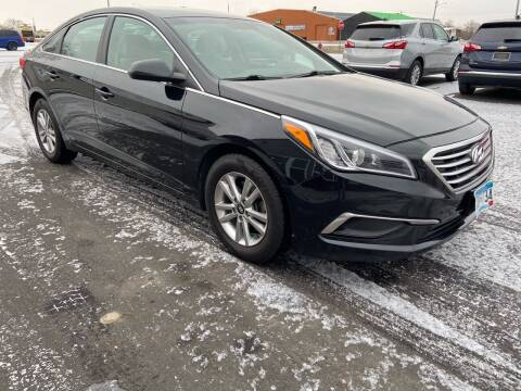 2016 Hyundai Sonata for sale at Hill Motors in Ortonville MN