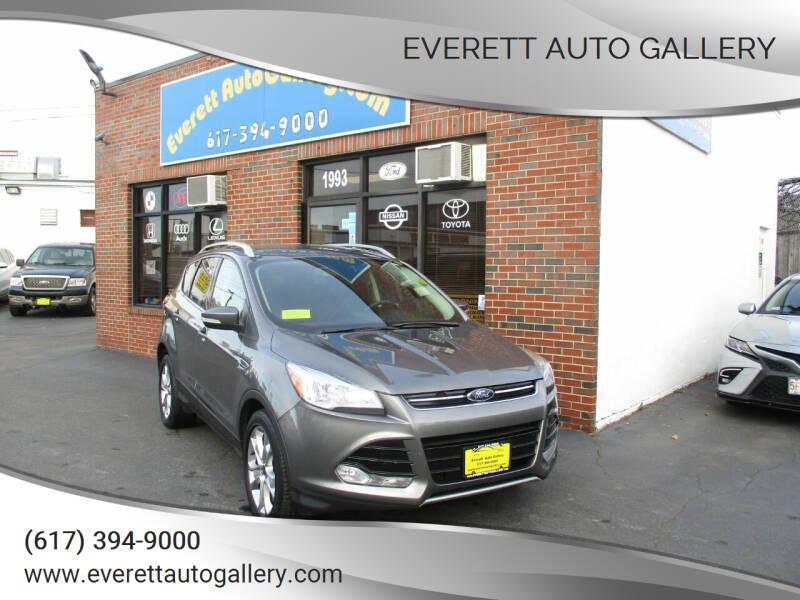 2014 Ford Escape for sale at Everett Auto Gallery in Everett MA