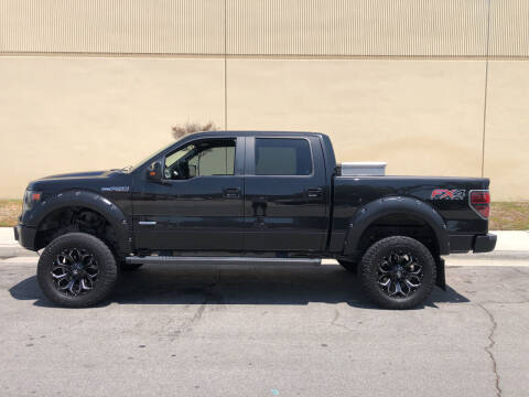 2014 Ford F-150 for sale at HIGH-LINE MOTOR SPORTS in Brea CA