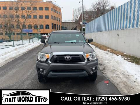 2013 Toyota Tacoma for sale at First World Auto in Jamaica NY