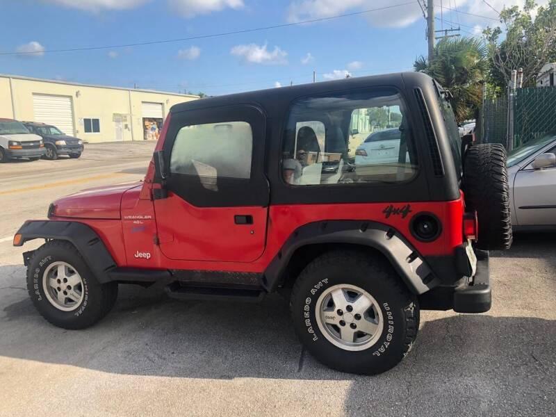 1997 Jeep Wrangler for sale at Elite Cars Pro in Oakland Park FL