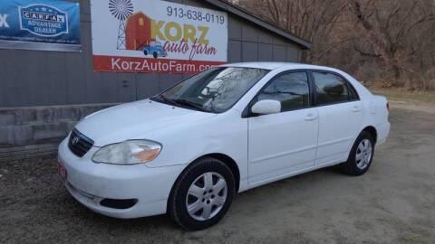 2007 Toyota Corolla for sale at Korz Auto Farm in Kansas City KS