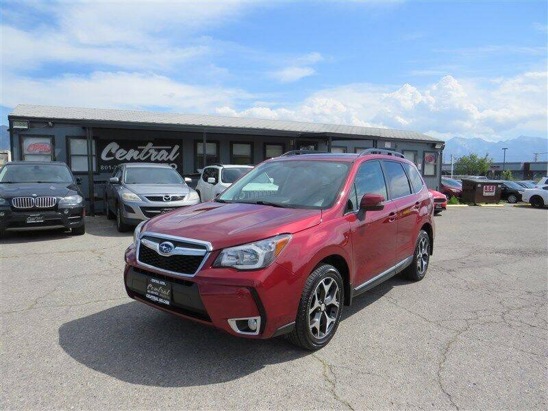 2015 Subaru Forester for sale at Central Auto in South Salt Lake UT